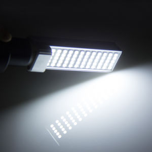 G24/E27 7W LED Corn Bulbs Light \ Horizontal Plug Lamp with Cover 5050SMD pictures & photos