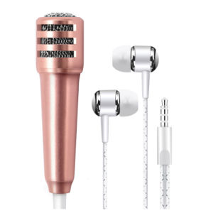 New 3.5mm Wired Mini Headset Microphone for Mobile Phone pictures & photos