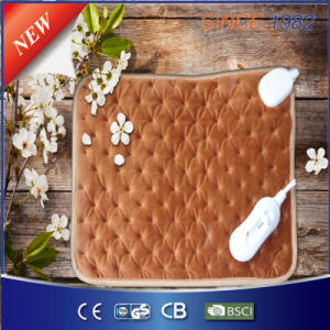 New Style Ultrasonic Welding Electric Heating Pad pictures & photos