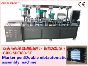 Marker Pen (Double head) Automatic Assembly and Filling Machine with CE Certificate pictures & photos