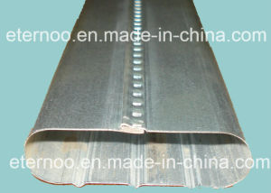 Galvanized Steel Oval Duct Making Machine (50*20mm, 70*20mm) pictures & photos