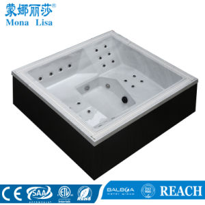 Screw Type 2 Person Use Acrylic Massage Outdoor SPA (M-3385) pictures & photos