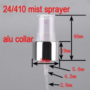 24/410 Mist Empty Pet Press Sprayer Pump with Alu Collar for Perfume Bottle pictures & photos