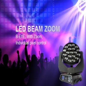 LED Moving Head Bee Eye 19X15W RGBW Zoom Stage Light pictures & photos