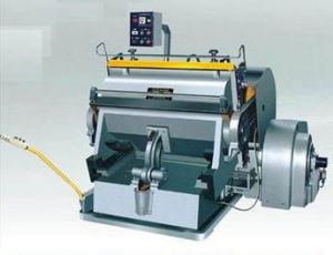 Carton Box Creasing and Cutting Machine pictures & photos