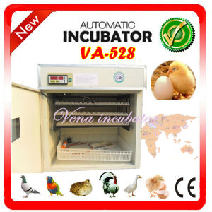 Christmas on Sale Fully Automatic Chicken Incubator Va-528 pictures & photos