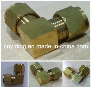 Fog Misting Cooling Brass Elbow Fitting (TH-B3004) pictures & photos