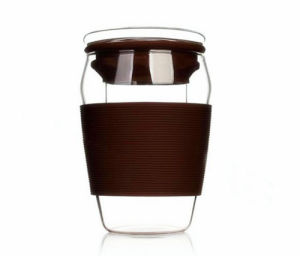 Prime Quality 300ml Glass Cup with Filter pictures & photos