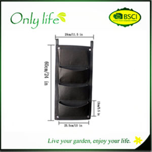 Onlylife Easy to Hang Balcony Plant Grow Bag pictures & photos
