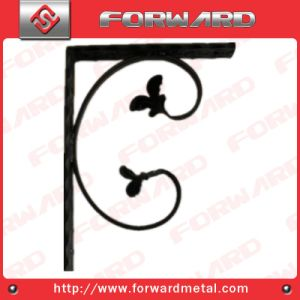Wrought Iron Welding Wall L-Shaped Bracket pictures & photos