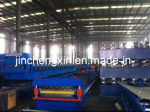 Double-Layer Forming Machine for Roof Tiles pictures & photos