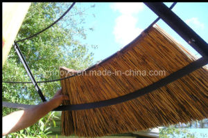 Fireproof Artificial Thatch Fiber Plastic Tile for Roofing Materials pictures & photos
