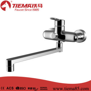 High Quality Brass Single Lever Kitchen Faucet (ZS41602A) pictures & photos