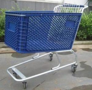 Plastic Shopping Trolley pictures & photos