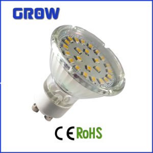 3W/4W MR16 Glass SMD LED Spotlight (GR636B) pictures & photos
