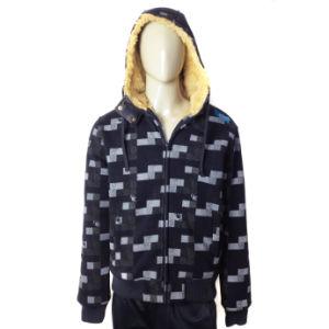 Fashion Design Men Windproof Fleece Jacket Hoody Jacket pictures & photos