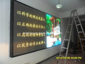 Indoor Energy Saving Video LED Wall pictures & photos