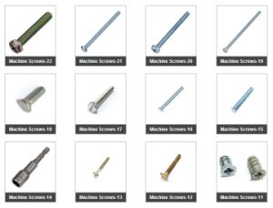 Fasteners Machine Screws