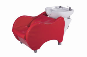 Red Color Shampoo Chair Salon Furniture (DN. 6035) pictures & photos