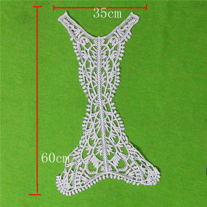 Water Soluble Cotton Lace Collar (cn140) pictures & photos