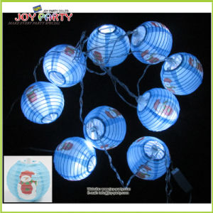 "3"" Paper Lantern String Light Christmas Lighting Decoration Garland Light pictures & photos"