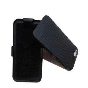 Black Color Combo Holster with Kickstand for iPhone5