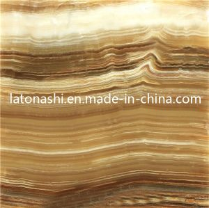 Discount Natural Polished Green Onyx Tile for Construction Decoration pictures & photos