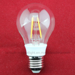 Dimmable 4W 6W 8W Filament LED Bulb (A60 C37) pictures & photos