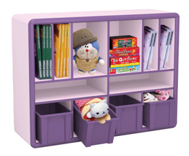 Children Cabinet Kids Furniture for Toys (YQL-17905A)