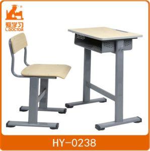 Wooden Study Desk for Children in Schools pictures & photos