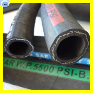 One Layer Steel Wire Reinforce Hydraulic Rubber Hose 1sc pictures & photos
