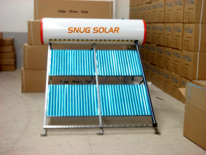 Vacuum Tube Solar Energy Water Heater Pressure System pictures & photos