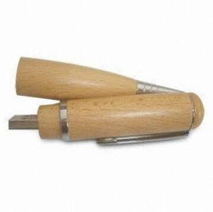 Wooden Pen USB Drive Ballpoint Pen Drive USB pictures & photos