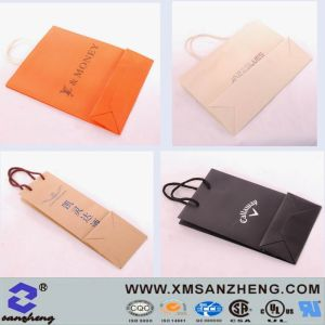 Custom Paper Packaging Bags pictures & photos