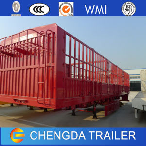 China Supplier 3 Axles Enclosed Cargo Semi Trailer pictures & photos