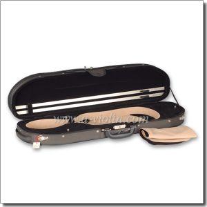 Half-Moon Shape Light Foam Violin Case (CSV061) pictures & photos