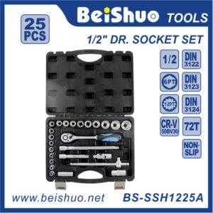 25PC 1/2′′ Dr. Socket Set pictures & photos