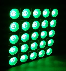5X5 30W 25 Head RGB Stage Background LED Pixel Matrix Blinder Panel pictures & photos