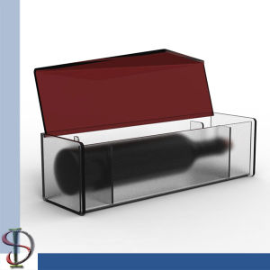 Wine Acrylic Box Display Stand