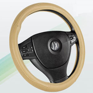 PVC with PU Steering Wheel Cover, High Quality Wheel Covers (BT7238C) pictures & photos