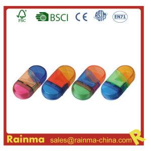 School Favor Colour Sharpener with Eraser pictures & photos