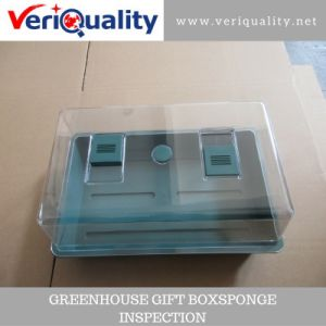 Greenhouse Gift Boxsponge Quality Control Inspection Service at Ninghai, Zhejiang pictures & photos
