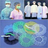 Disposable Non-Woven Surgical Cap/Mob Cap/Clib Cap/Bouffant Cap pictures & photos