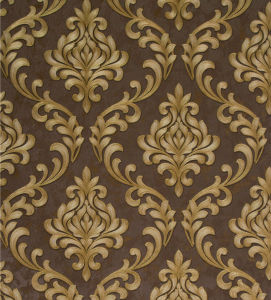 New Italy Design Deep Embossed PVC Wall Paper (350g/sqm 53CM*10M) pictures & photos