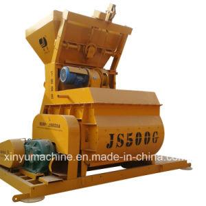 Js Series Twin Shaft Compulsory Concrete Mixer (JS500) pictures & photos