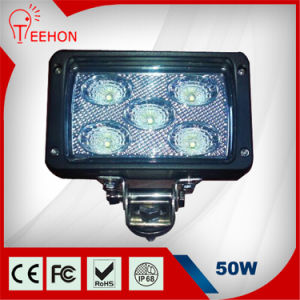 "6"" Square 50W CREE LED Work Light pictures & photos"