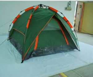 3 Person Automatic Camping Tents with Rainfly pictures & photos