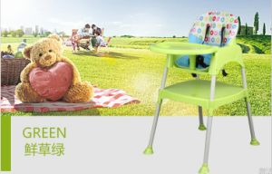 En71 Certificated Plastic Chair High Baby Chair Dining Chair/Highchair to Over Sea Market pictures & photos