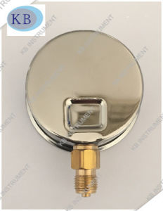 Stainless Steel Glycerine Oil Filled Pressure Gauge Manometer pictures & photos
