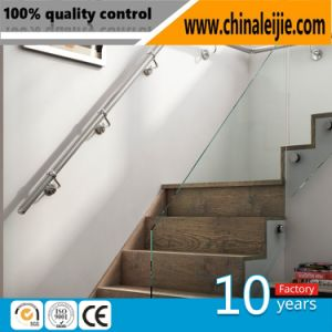 304/316 Stainless Steel Glass Handrail/Glass Staircase/Glass Decoration/Glass Pillar pictures & photos